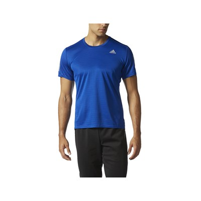 Adidas Performance t-Shirt running - bleu
