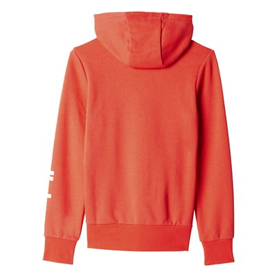 Sweat à capuche - corail