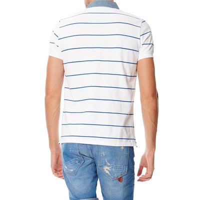 PEPE JEANS LONDON Derby - Polo manches courtes - blanc