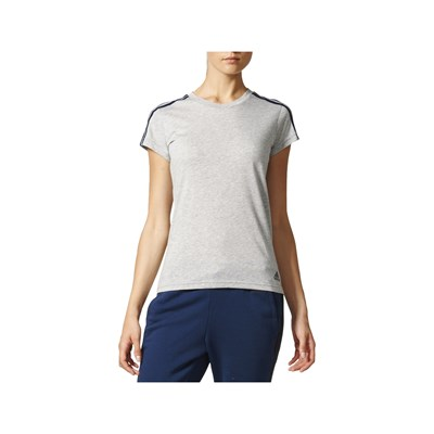 Adidas Performance t-Shirt manches courtes - gris
