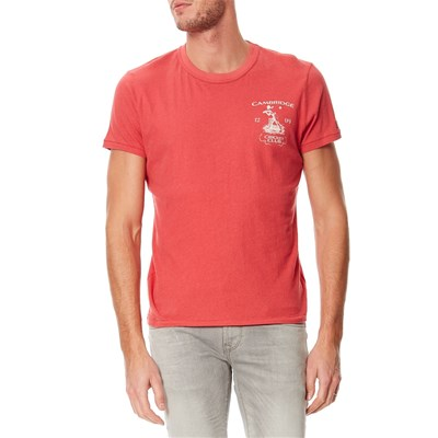 PEPE JEANS LONDON Doosra - T-shirt manches courtes - corail