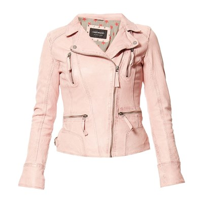 Camera Light - Veste en cuir - rose clair