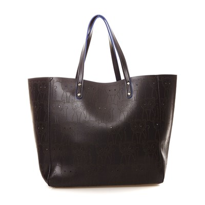 Sac à main - denim noir