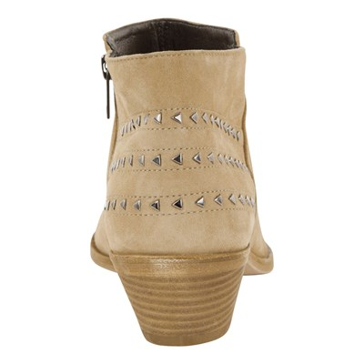 Low boots en cuir - en cuir naturel