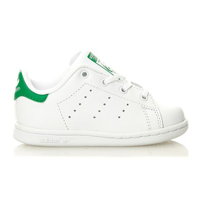 Stan Smith I - Baskets en cuir mélangé - blanc