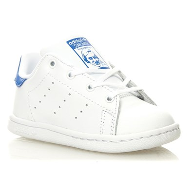 Stan Smith - Baskets en cuir mélangé - blanc
