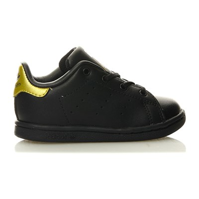 Stan Smith I - Baskets en cuir mélangé - noir