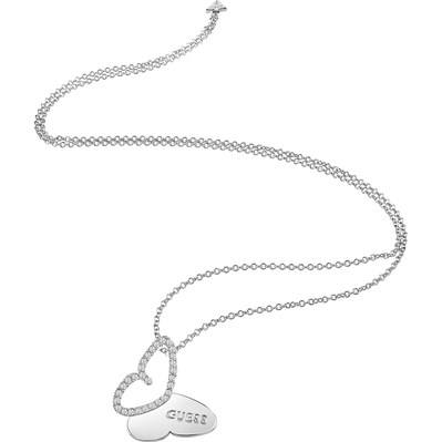 Guess Mariposa - collier pendentif - argent