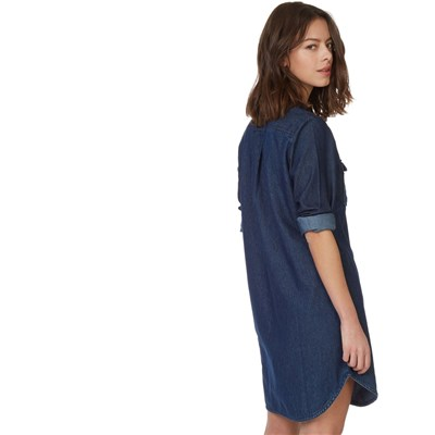 Robe en jean - denim bleu
