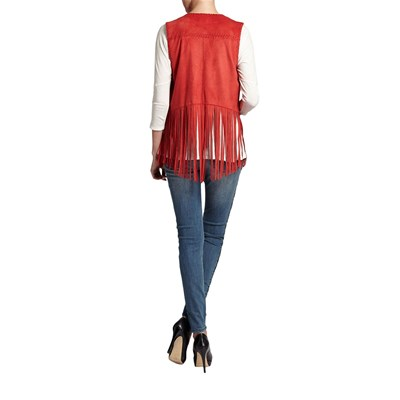 MORGAN Gilets - rouge