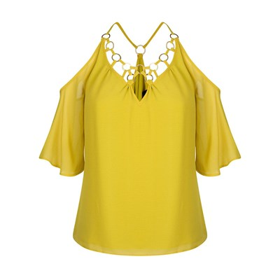 Picadilly - Blouse/tunique/chemisier - jaune