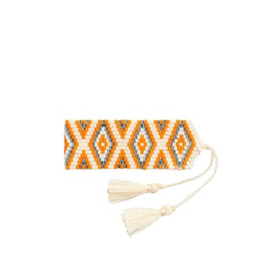 Amadoria Java - Bracelet manchette - orange