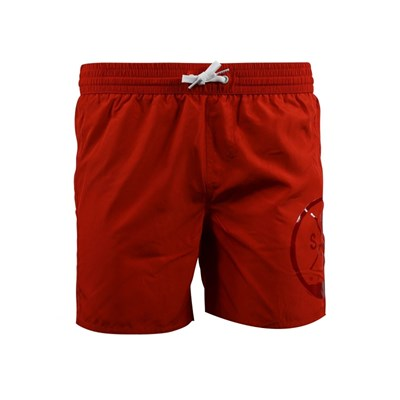 Russo - Short de bain - rouge