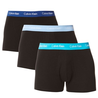 Calvin Klein underwear men lot de 3 boxers - noir