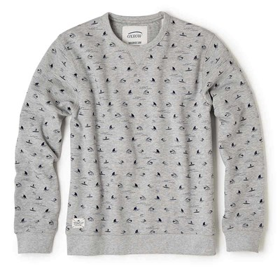 Saruta - Sweat-shirt - gris chine