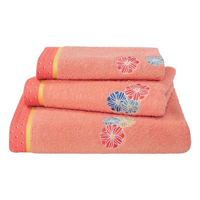 Prunelle - Serviette de bain - rose