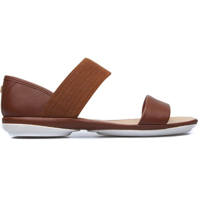 Right - Sandales en cuir - marron