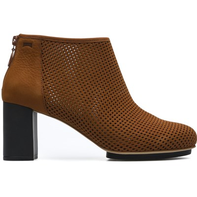 Myriam - Bottines en cuir - marron