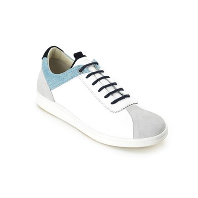 Match Point - Sneakers en cuir - blanc