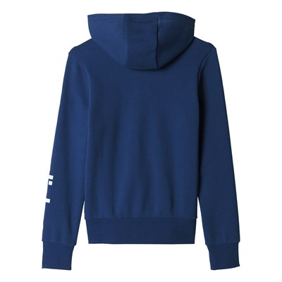 Sweat à capuche - bleu