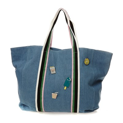 Sac à main - denim bleu