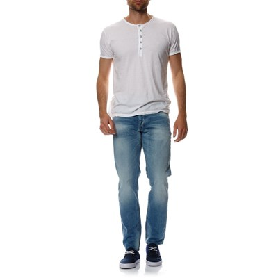 JACK & JONES Mike - Jean comfort fit - denim bleu