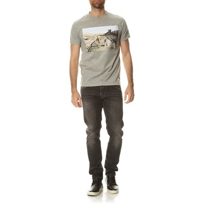JACK & JONES Trooper - T-shirt - gris clair
