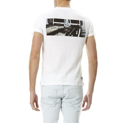 JACK & JONES Trooper - T-shirt - blanc