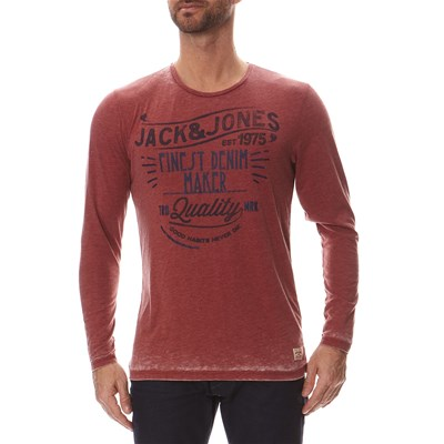 JACK & JONES Finest - T-shirt - rouge