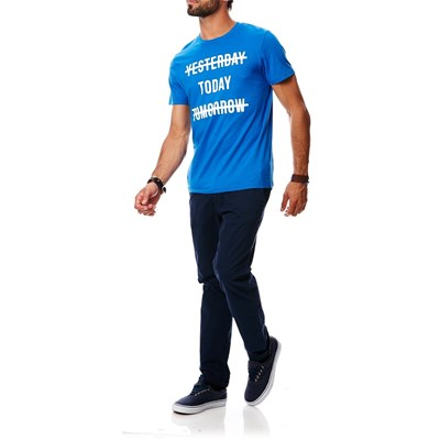 JACK & JONES Sharp - T-shirt - bleu classique