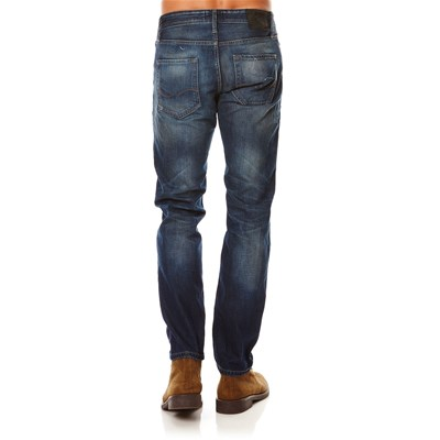 JACK & JONES Jean droit - denim bleu