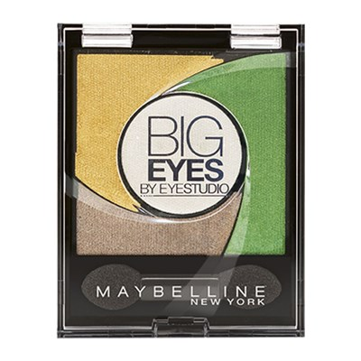 Gemey Maybelline big eyes  petite palette - fard à paupières - 2 luminous grass