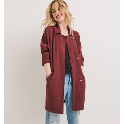 Manteau - bordeaux