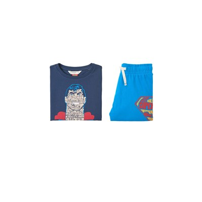 Mango kids boys/Pyjama court Superman - multicolore