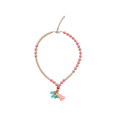 Mango kids girls/Collier pendentifs perles - multicolore