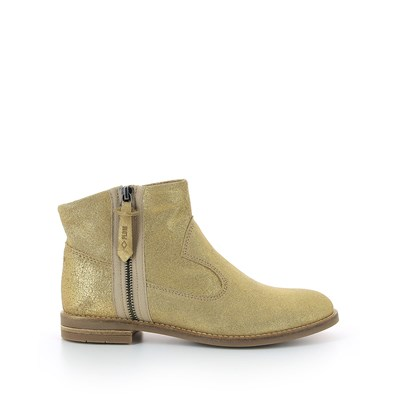 Sully - Boots en cuir - or