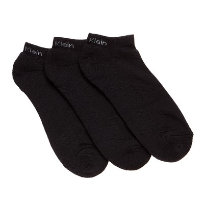 Athletique Noir - Lot de 3 paires de socquettes - noir