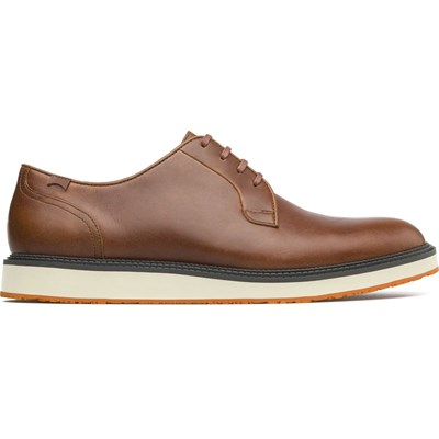 Magnus - Derbies en cuir - marron