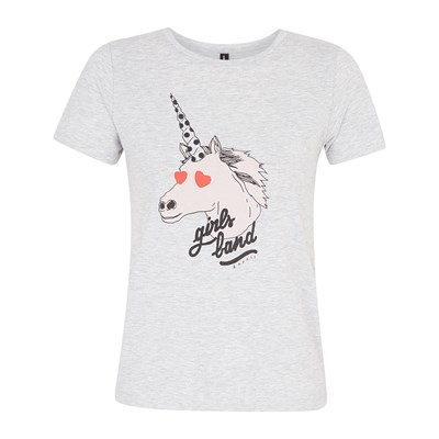 The Gang - T-shirt - gris chine