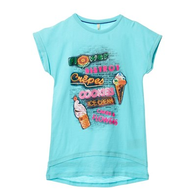 T-shirt - turquoise
