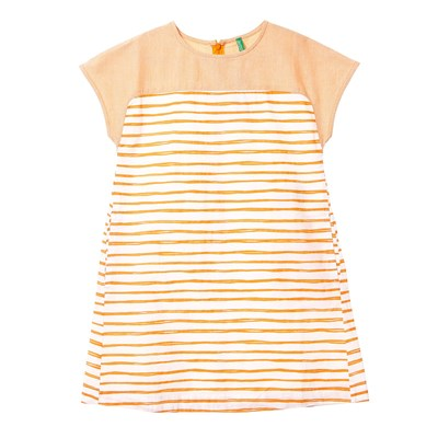 Benetton Robe d'été - orange