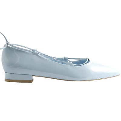 Hope - Ballerines en cuir - bleu