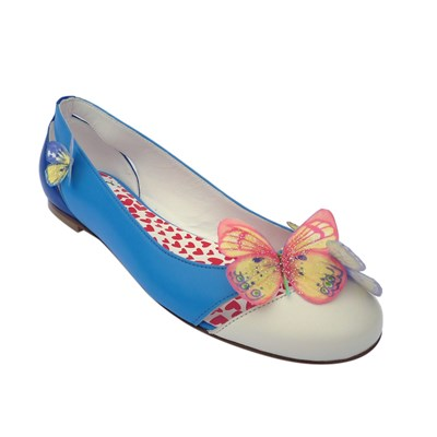 Envol de Printemps - Ballerines en cuir - multicolore