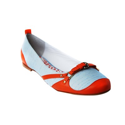 Cabezon - Ballerines en cuir - rouge