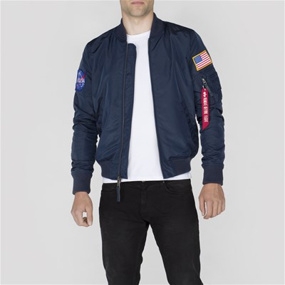 Alpha Industries bombers réversible - bleu marine