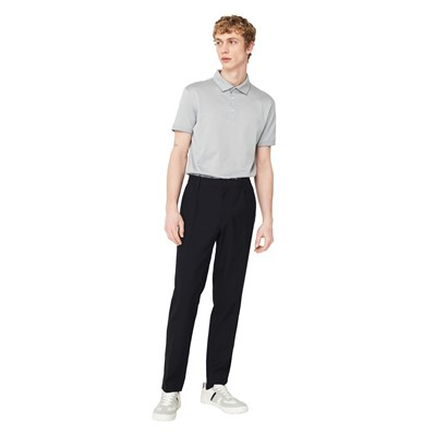 Polo slim-fit coton - bleu ciel