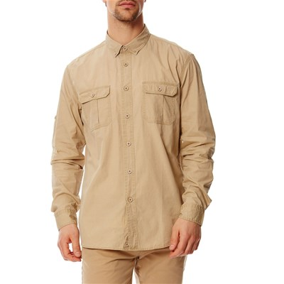 Benetton Chemise manches longues - camel