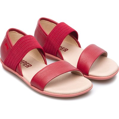 Right - Sandales en cuir - rouge