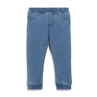 Jegging en denim - bleu