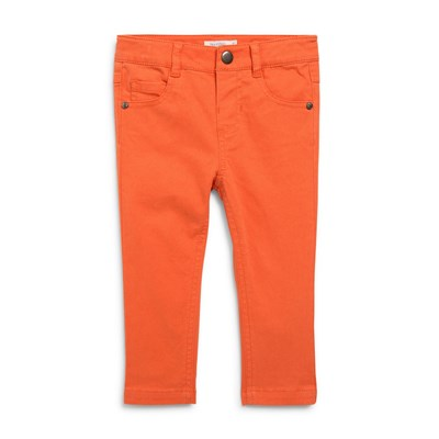 Pantalon 5 poches - orange